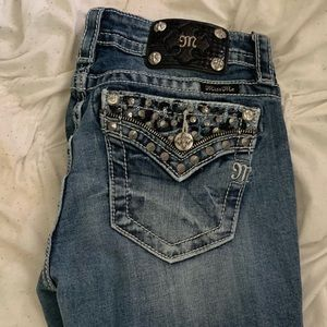 Miss Me Jeans | Sparkly Cheetah.